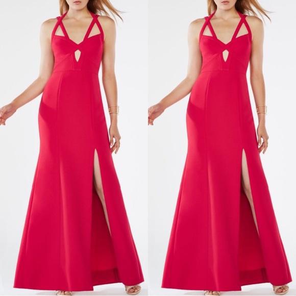 BCBGMaxAzria Dresses & Skirts - BCBG evening red gown